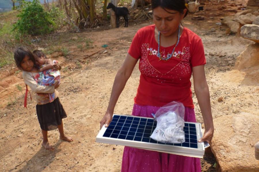 sistemas solares para comunidades rurales mexico