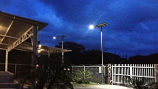 iluminacion publica solar